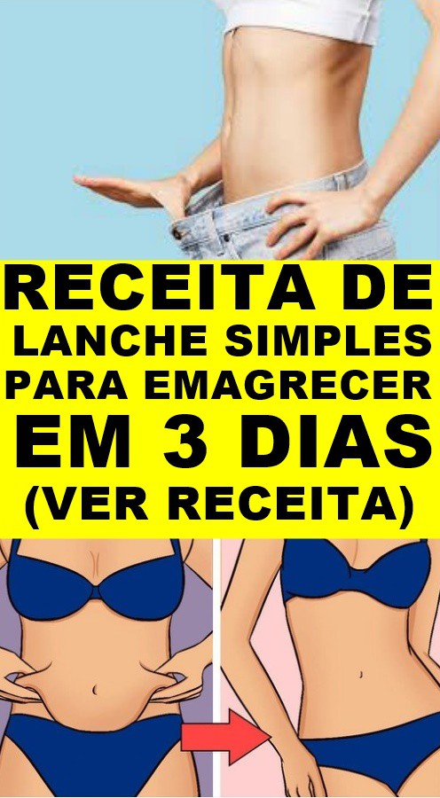 lanches simples para emagrecer