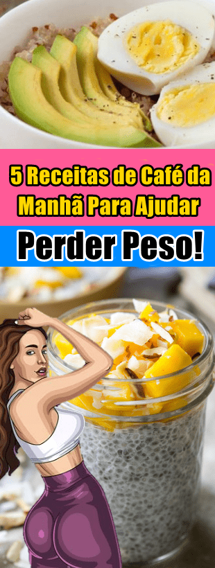 perder peso no cafe da manha